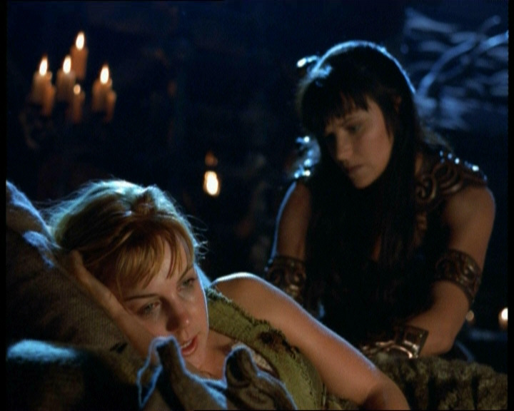 With xena warrior princess gabrielle nude fakes