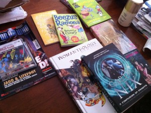 10 good reasons not to feel guilty about reducing book buying in 2012