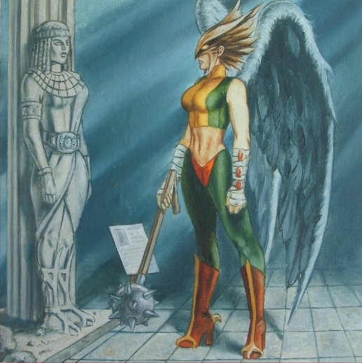 Hawkgirl: Where The Wonder Women Are: #3 Hawkgirl/Hawkwoman