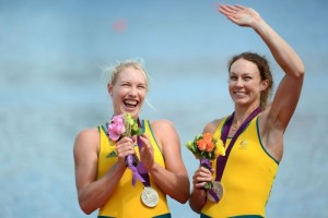 Australian rowers Kim Crow and Brooke Pratley - winning silver is not losing.