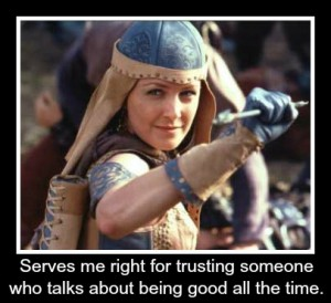Xena Crabs Virtue is Its O...