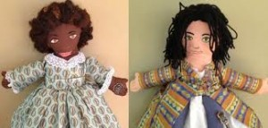 Hand-made reversible doll presented to Andrea Hairston as part of her Tiptree prize at Wiscon in 2012.