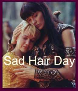 sad hair day xena