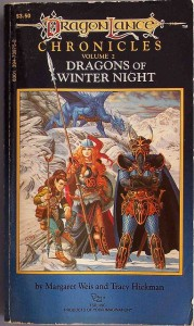 oh Dragonlance, the candied popcorn of epic fantasy