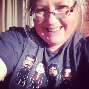 Tansy's Musketeer t-shirt thanks to redscharlach & Redbubble