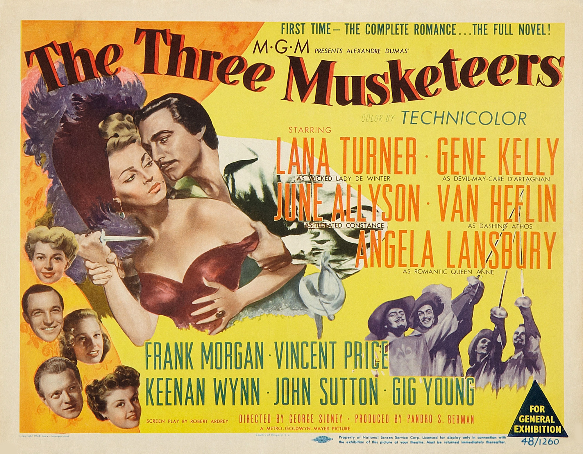 Musketeers In Technicolor 1948 Tansyrr Com