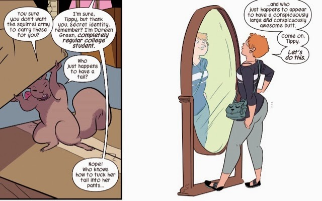 squirrel girl butt