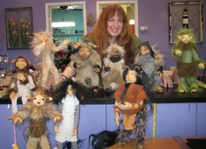 Froud, Brian, Wendy's dolls