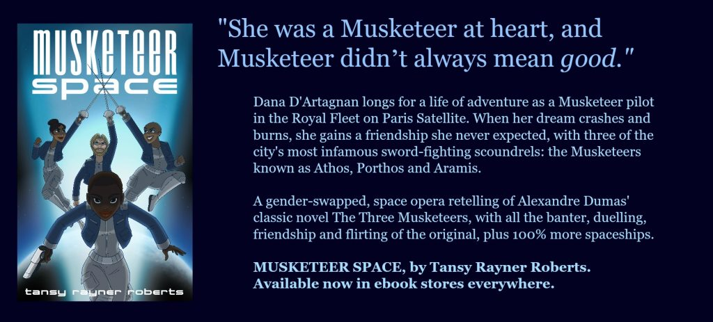 musketeer space book banner